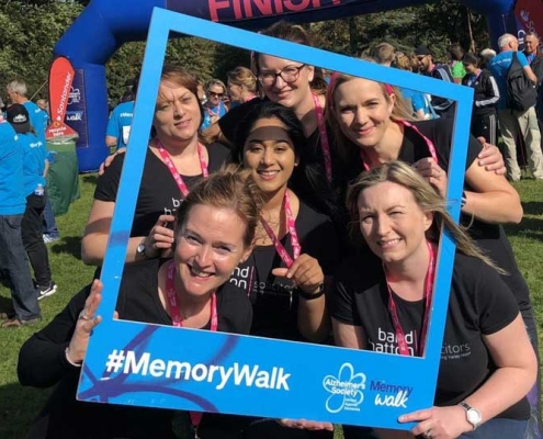 The Will, Trusts & Probate team Memory Walk